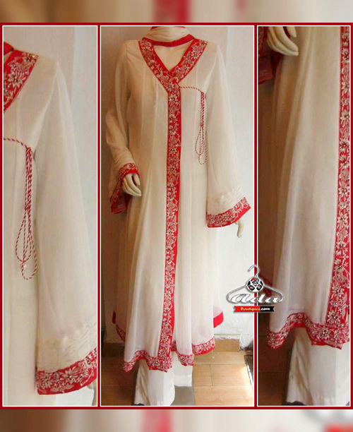 Heavy Dabka And Moti Handwork Dress