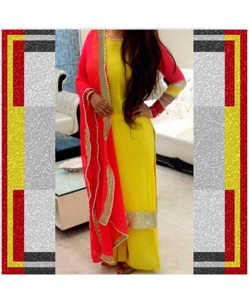Glamorous Yellow Dress