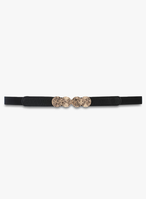 Kazo Black and Gold Belt