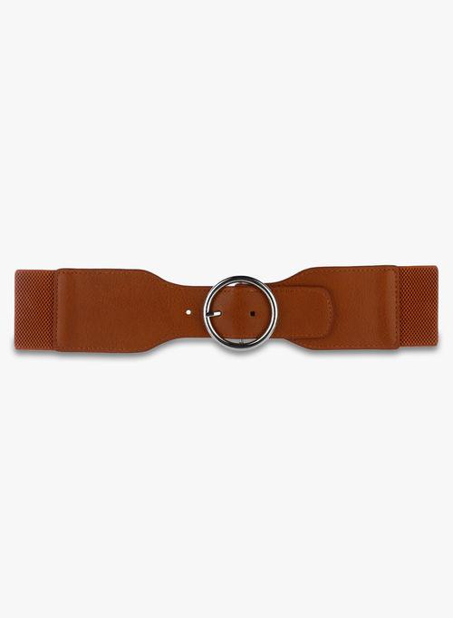 Kazo Brown Elastane Belt