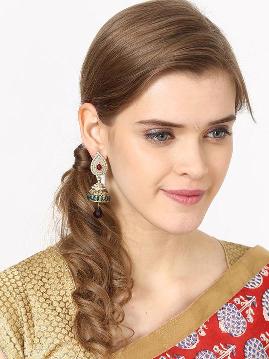 Aujjessa Crystal Drop Earring