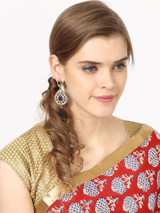Aujjessa Gold Drop Earring