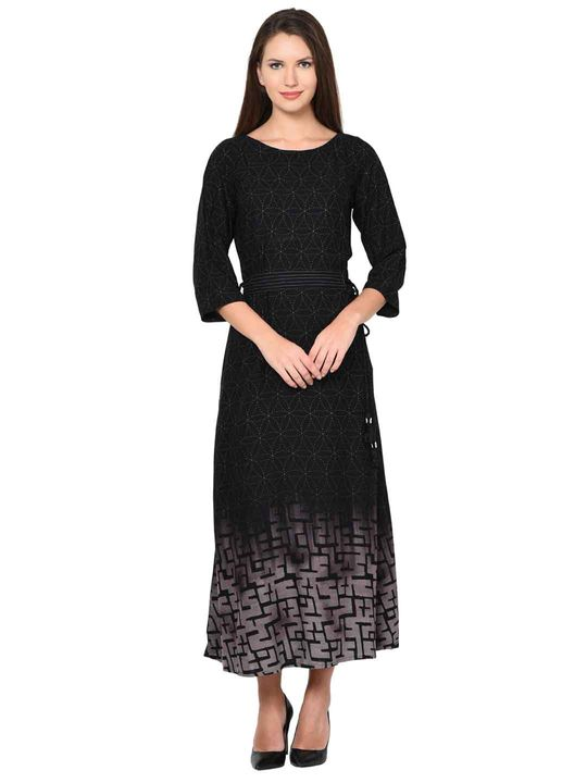 Aujjessa Bohemian A-Line Dress