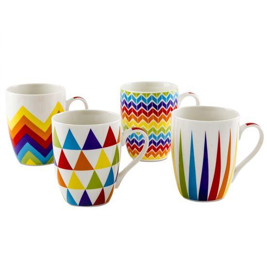 Vibgyor Mug S Set Of 4