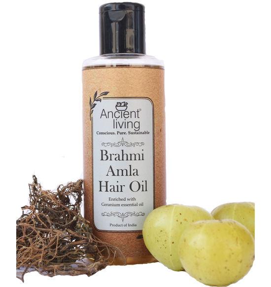 Organic Brahmi & Amla Hair oil -200ml