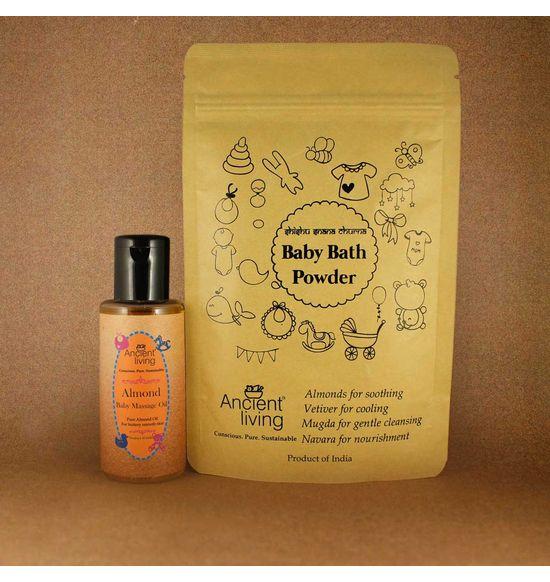 6da14a4d8fcb Organic Almond Baby Bath Kit