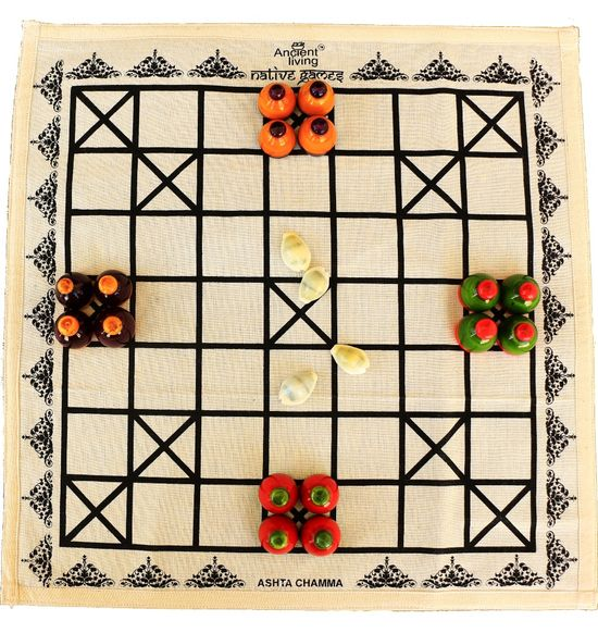 Ashta Chamma Strategy Board game