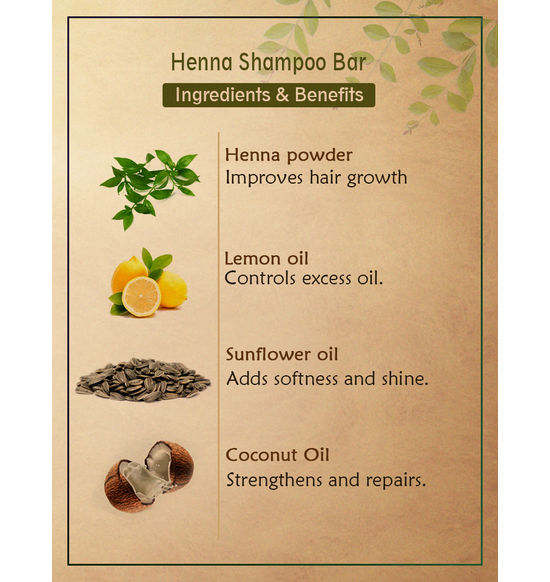 Ancient Living Henna Shampoo Bar