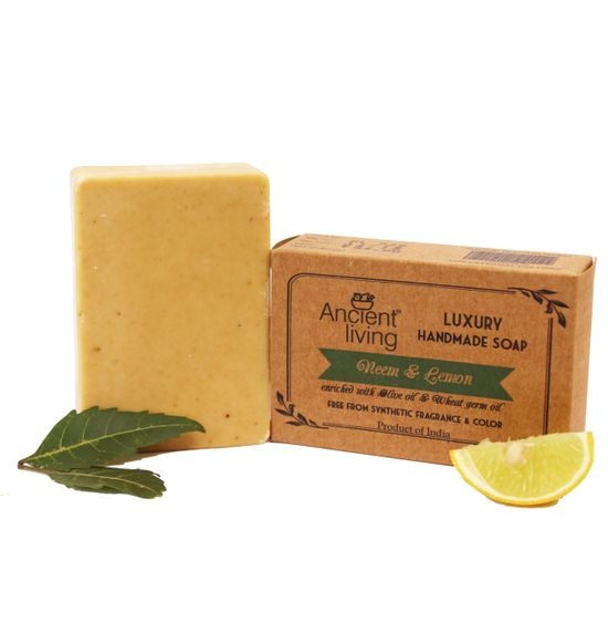 Neem & Lemon Luxury Handmade Soap -100gm