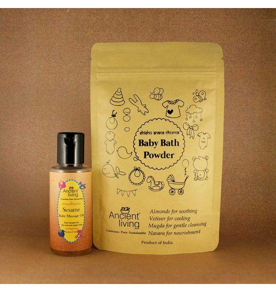 69c3f140ceec Organic Nourishing Baby Bath Kit