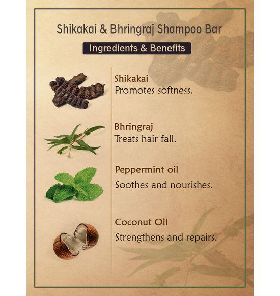 Ancient Living Shikakai Bhringraj Shampoo Bar 100 G
