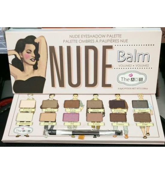 The ADS Balm Volume 2 Nude Palette Eyeshadow (12 Colors