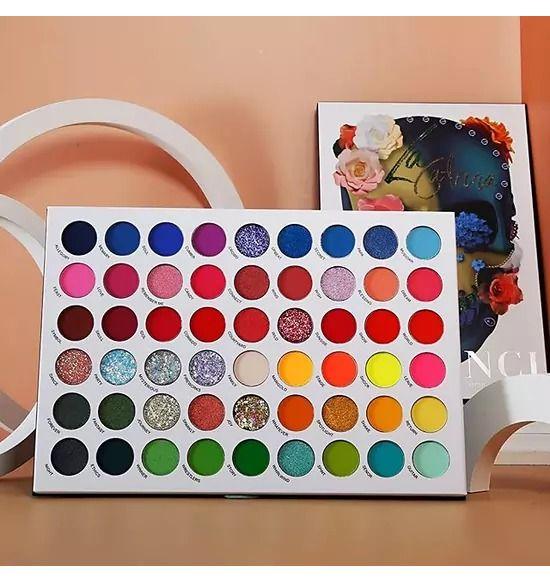 De Lanci 54 Color La Catrina Makeup Palette