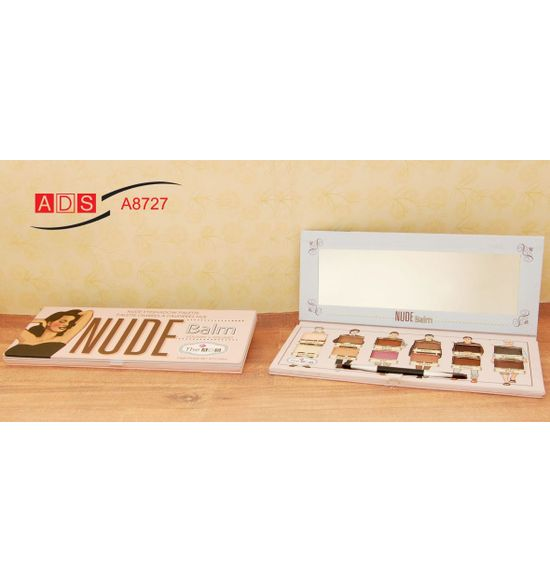 ADS Balm The Nude Eyeshadow Palette A8727