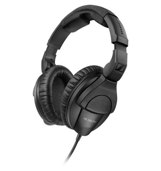 sennheiser hd 280 pro studio monitor folding headphone black hd 280 pro. Black Bedroom Furniture Sets. Home Design Ideas