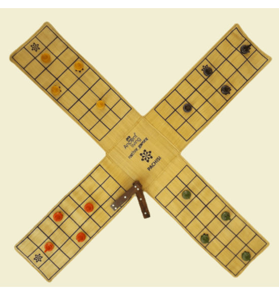 Ancient Living Pachisi Indian Ludo Chausar Board Game