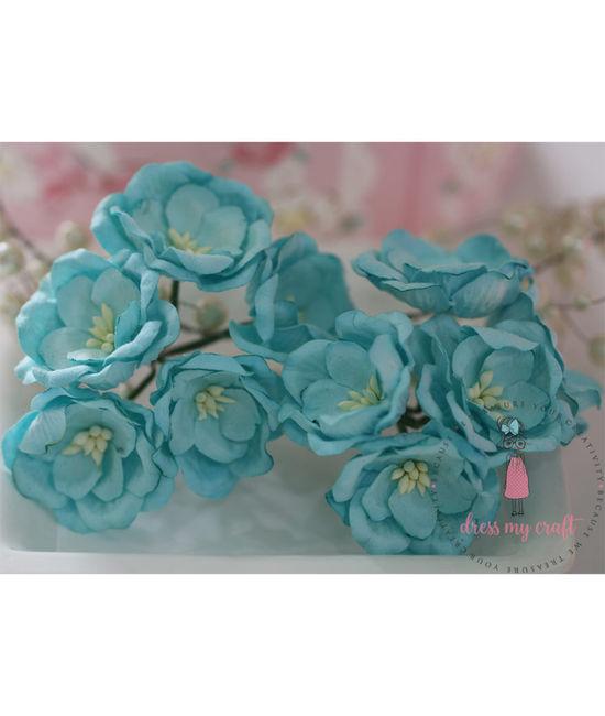 Poppy Rose - Blue | Dmcfl6512e | Dress My Craft
