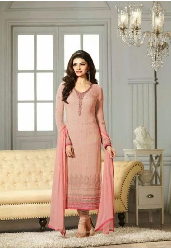 Prachi Desai Pink Straight Suit_2
