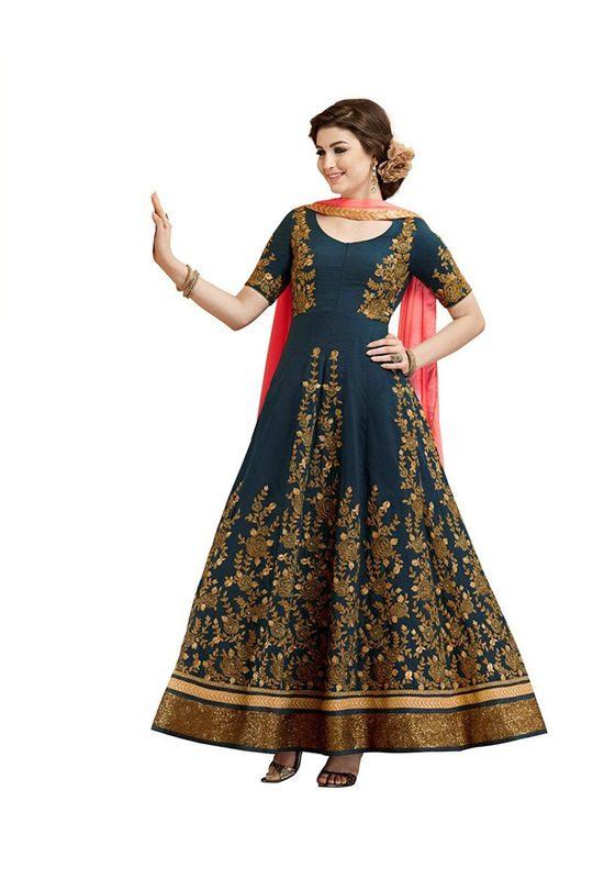 Gulzar Anarkali Suit For Marriage And Festivals 2
