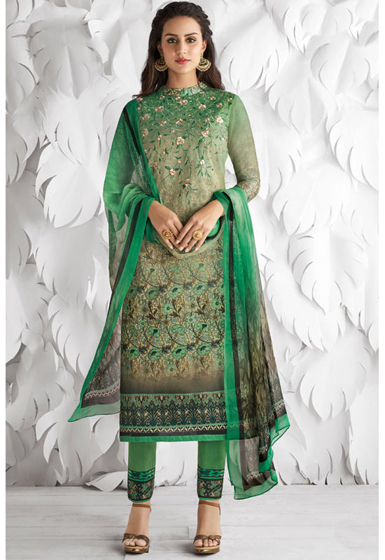 Casual Wear Straight Cotton Salwar Suit_19