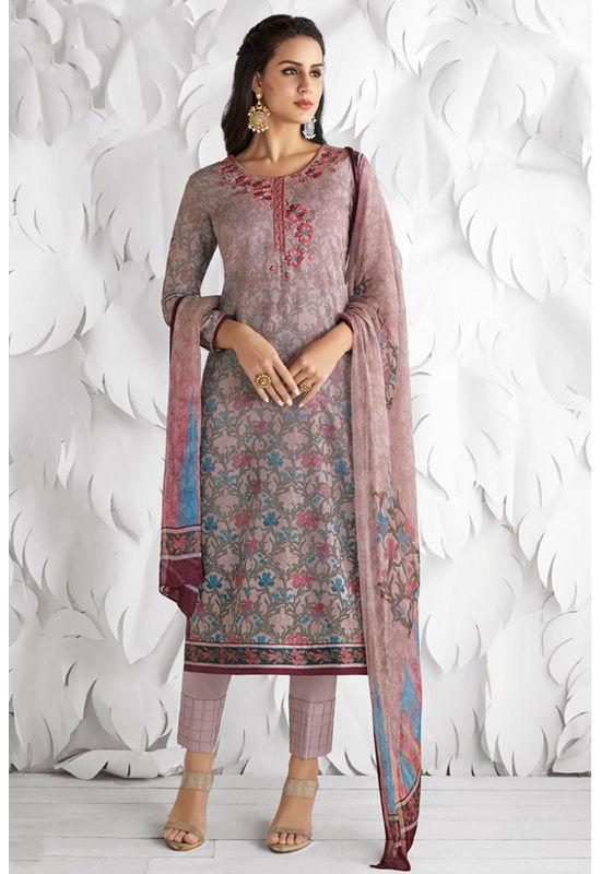 Casual Wear Straight Cotton Salwar Suit_23