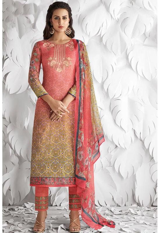 Casual Wear Straight Cotton Salwar Suit_25