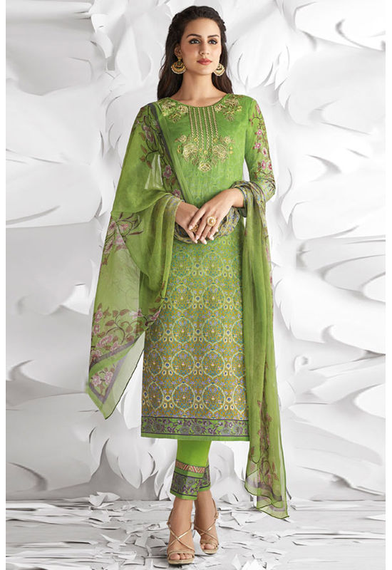 Casual Wear Straight Cotton Salwar Suit_26