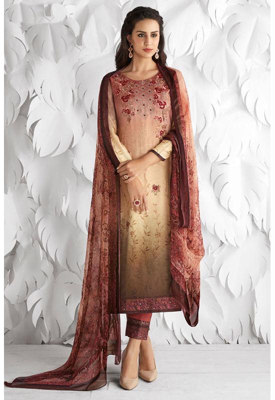 Casual Wear Straight Cotton Salwar Suit_36