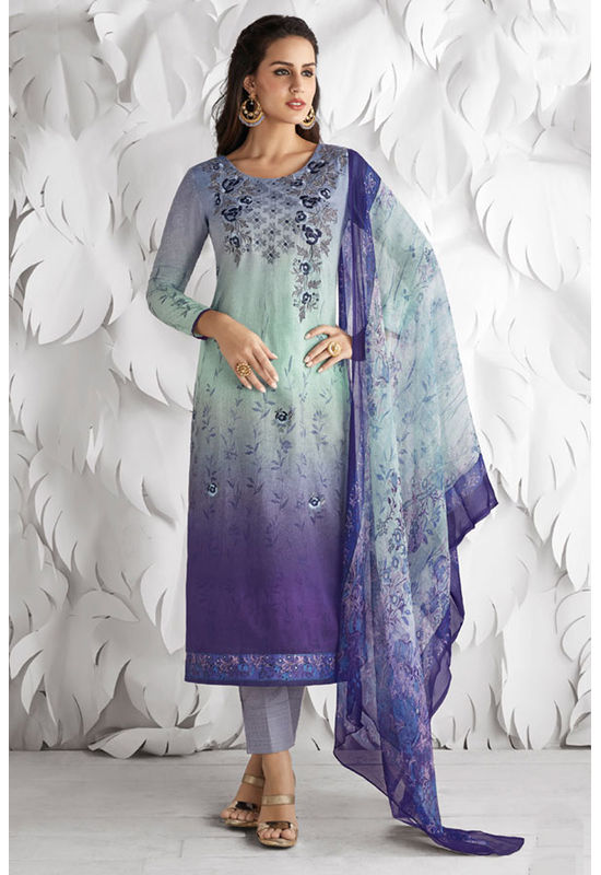 Casual Wear Straight Cotton Salwar Suit_37