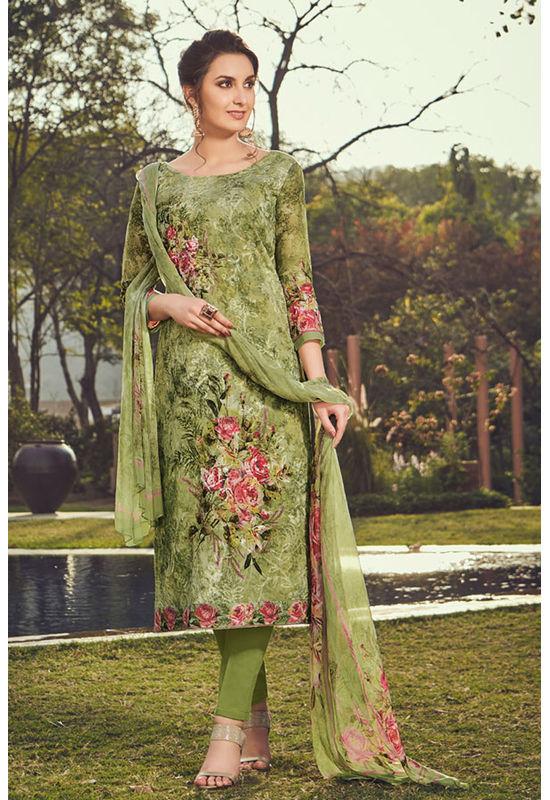 Casual Wear Straight Cotton Salwar Suit_42
