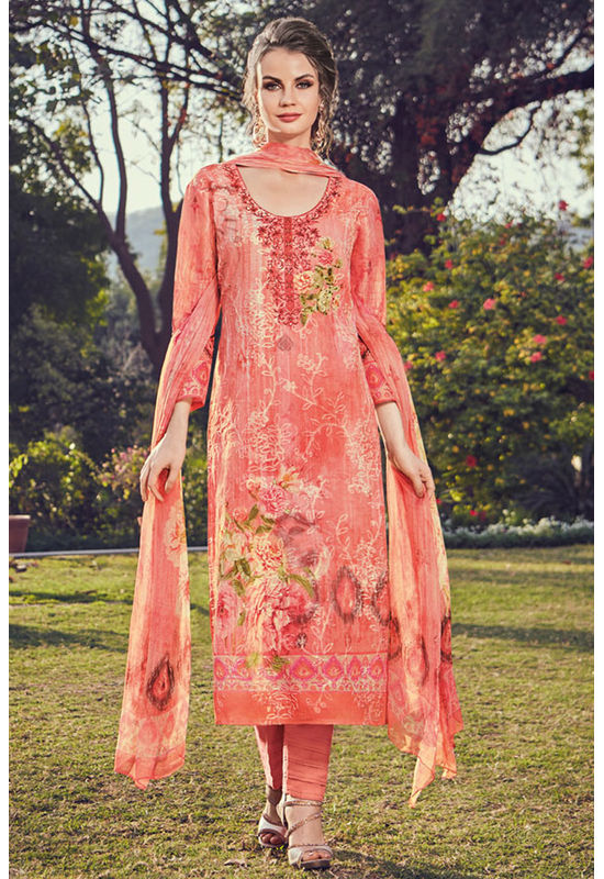 Casual Wear Straight Cotton Salwar Suit_43