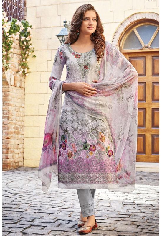 Casual Wear Straight Cotton Salwar Suit_48
