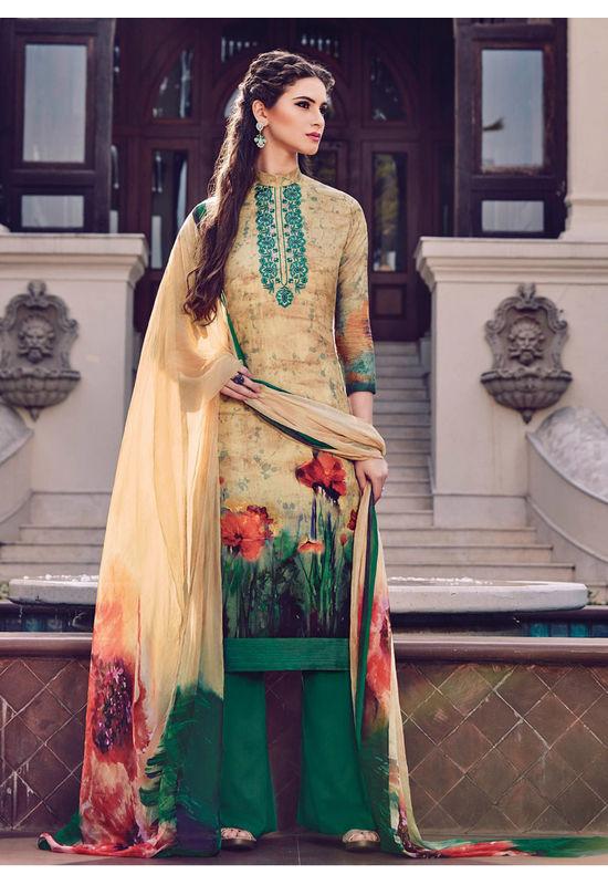 Casual Wear Straight Cotton Salwar Suit_51