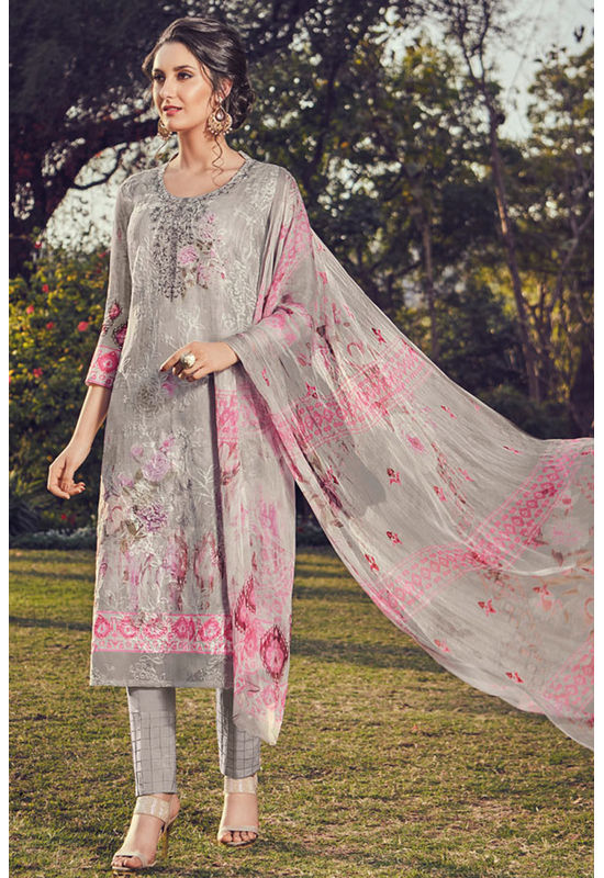 Casual Wear Straight Cotton Salwar Suit_52