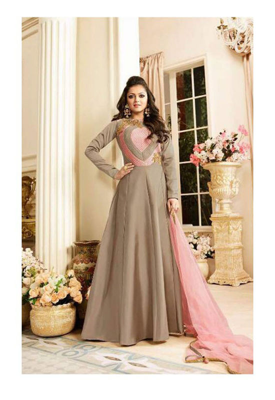 Drashti Dhami Embroidered Long Anarkali Suit_29