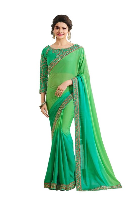 Prachi Desai Party Wear Saree_11