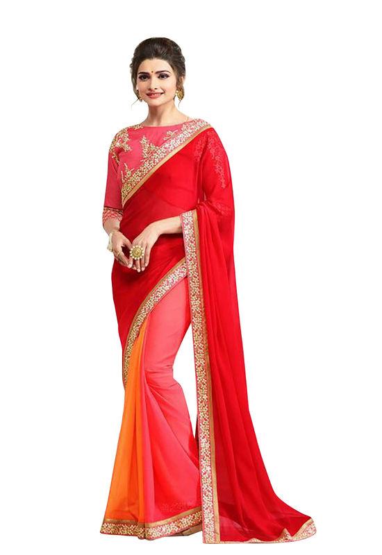 Prachi Desai Party Wear Saree_14