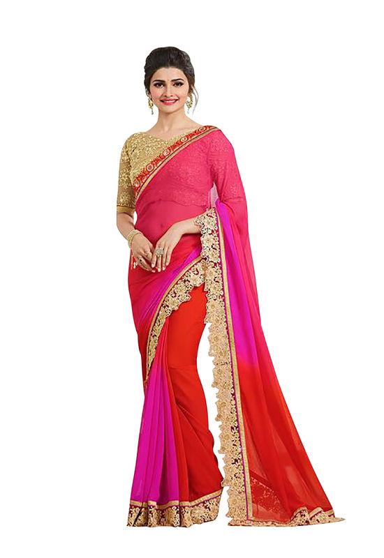 Prachi Desai Party Wear Saree_19