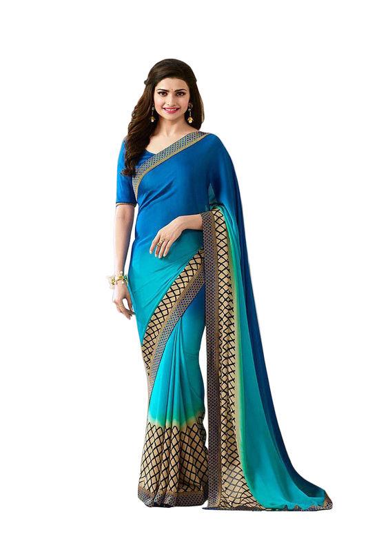 Prachi Desai Party Wear Saree_3