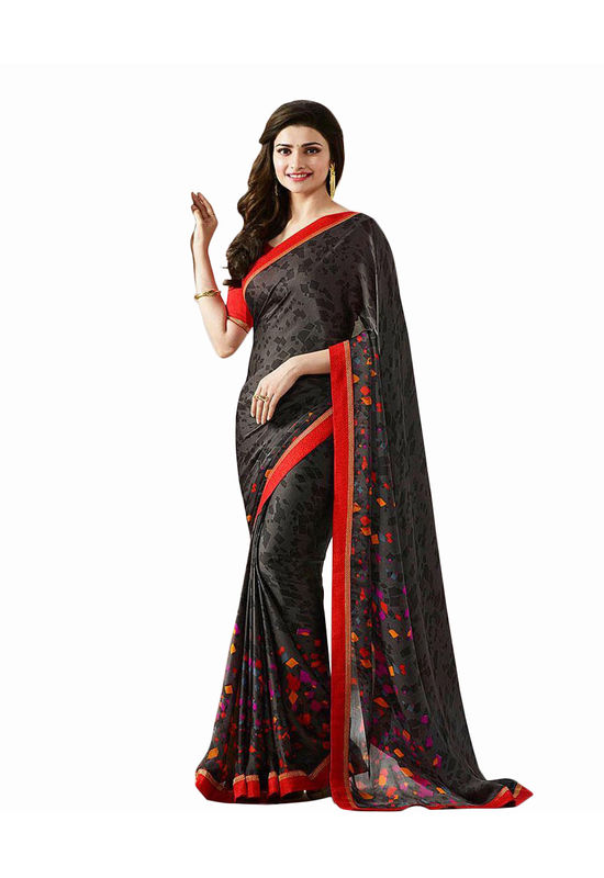 Prachi Desai Party Wear Saree_4
