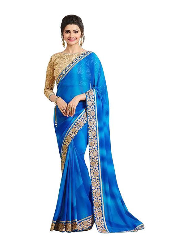 Prachi Desai Party Wear Saree_6