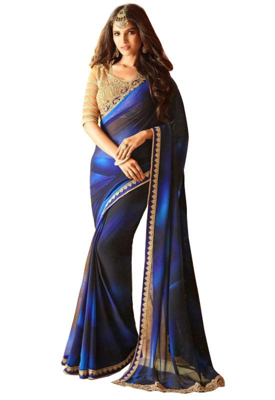 Prachi Desai Party Wear Saree_8
