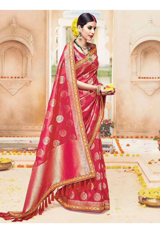 Designer Wedding Red Bridal Kanjivaram Saree_5