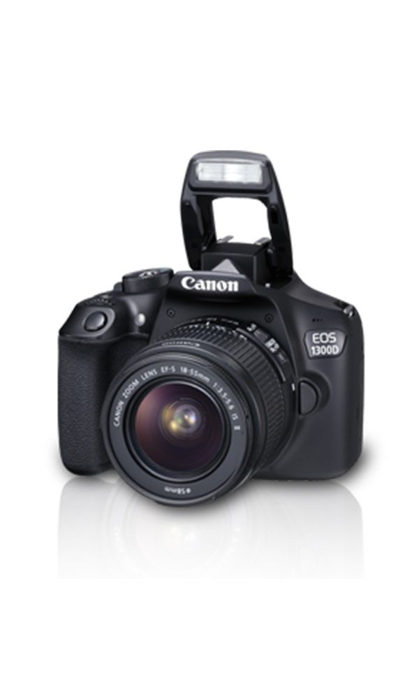 Canon EOS 1300D DSLR Camera Dual kit with EF-S 18-55 IS II + 55-250 IS II  lens