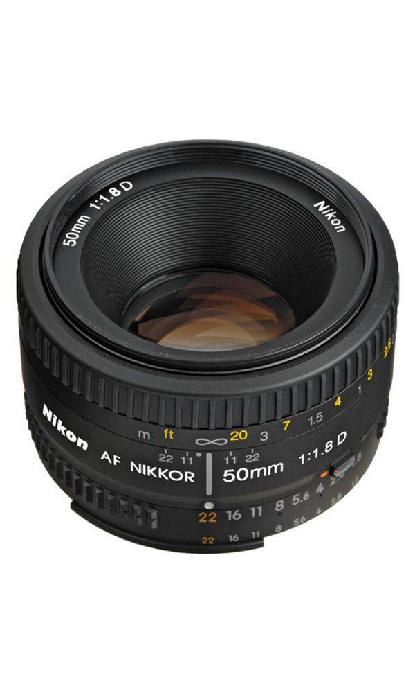 Nikon Af Nikkor 50mm F18d Lens Standard Lens Ia090111