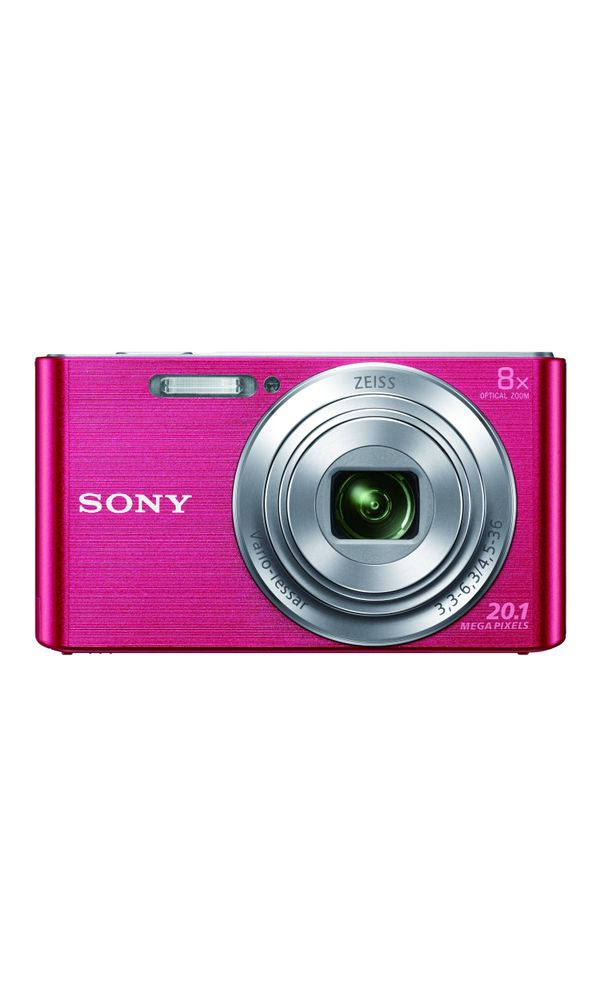 Sony CyberShot DSC W830 20.1 MP Point and Shoot Camera (Pink). Zoom