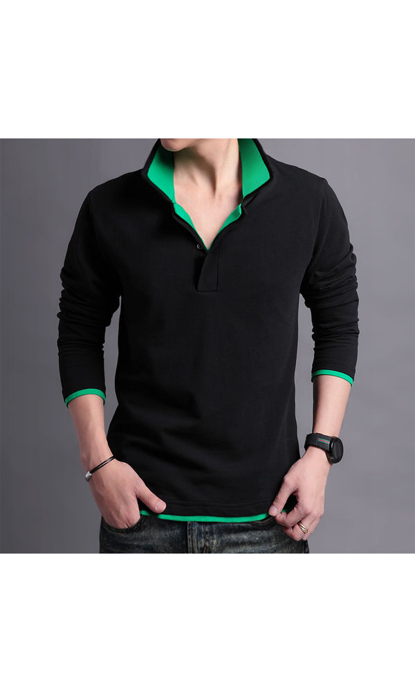 548a21a4ecd Buy Black Party Wear Full Sleeves Shirt With Box Paking online