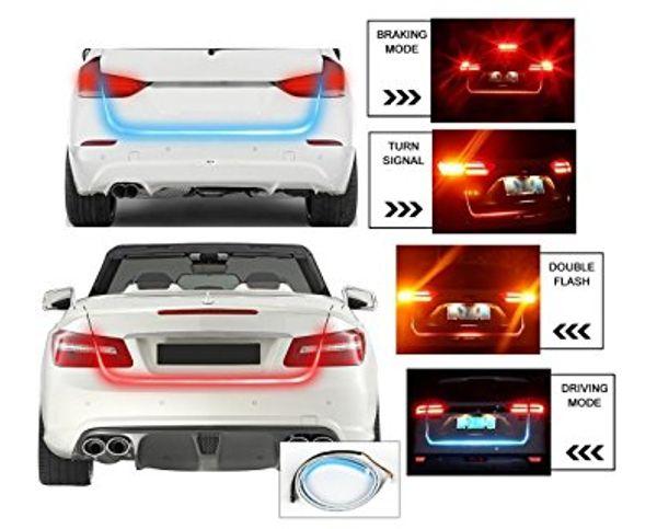 Sans Tail Lights Streamer Brake Turn Signal Led Lamp Strip