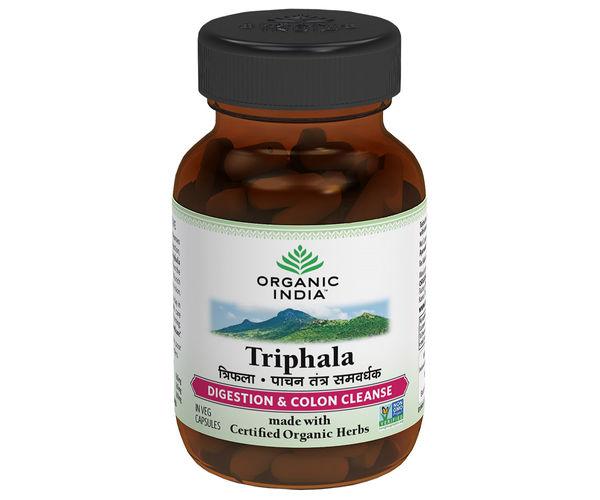 Buy Organic India Triphala 60 Capsules Bottle Amp Get Upto