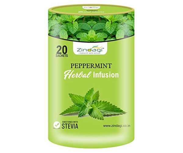 Buy Zindagi Peppermint Herbal Infusion Online At